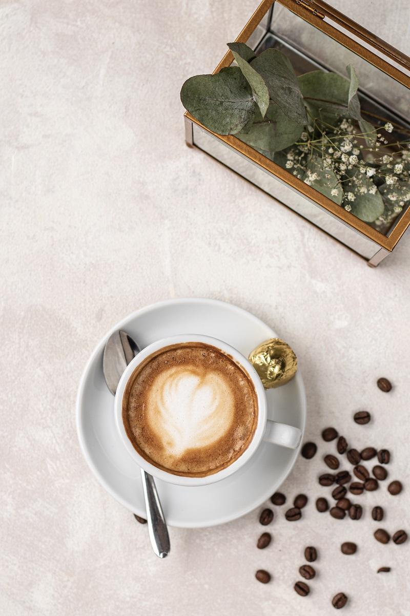 Fotografia napojów kawiarnia