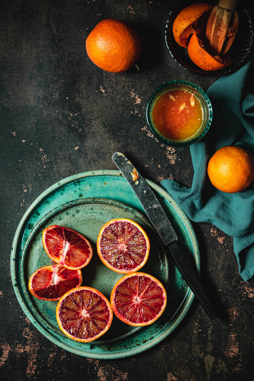 Fotografia kulinarna Karolina Nicpoń - pomarańcze