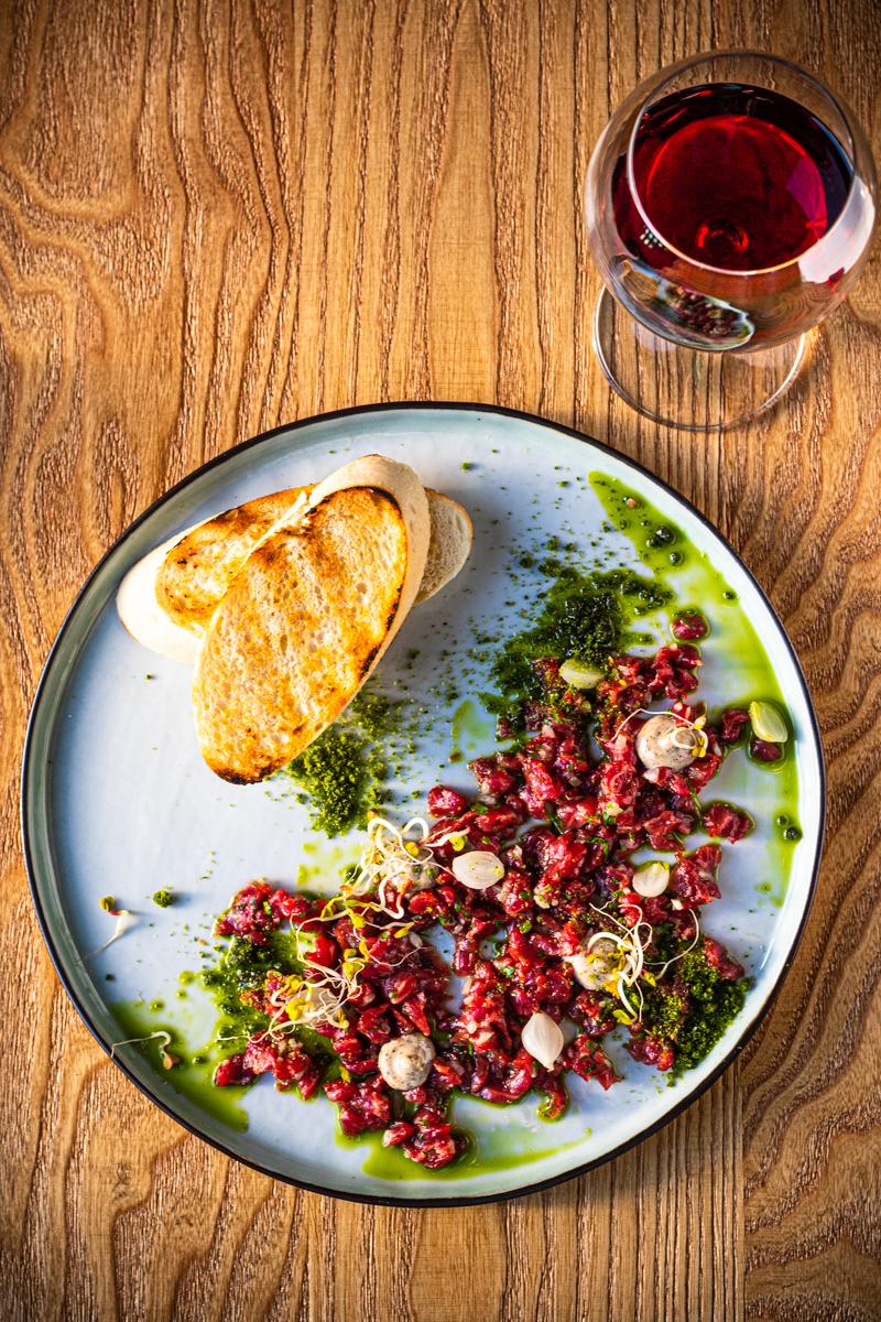 Fotografia jedzenia restauracji sherlock